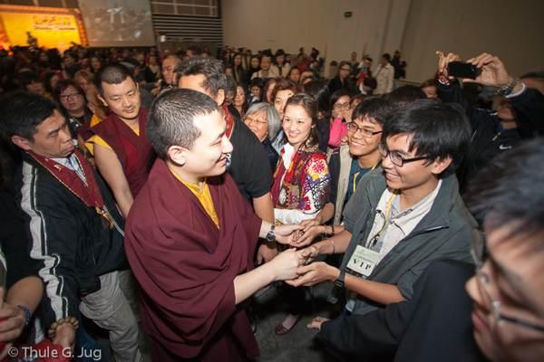 Ngài Karmapa Trinley Thaye Dorje  thứ 17, Ấn Độ thông điệp VESAK 2014