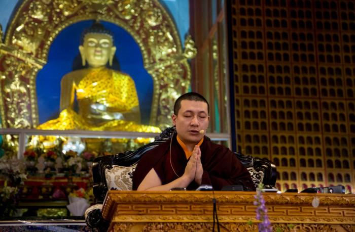 Khoá Tu Thiền Định Với Karmapa ở Kibi, New Delhi Ấn Độ
