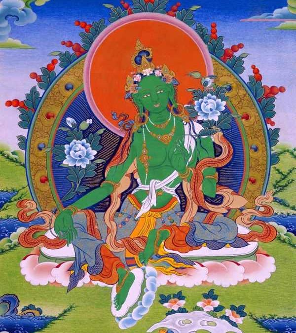 TÁN LỄ HAI MƯƠI MỐT ĐỘ MẪU TARA, Trusik Rinpoche, Shangpa Rinpoche