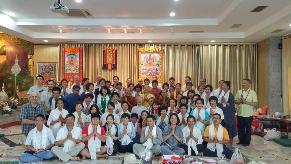 Khoá Tu Phowa tiếng Việt, Thái Lan 2015, Dupsing Rinpoche