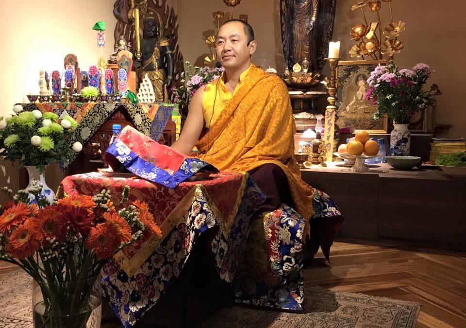 Dupsing Rinpoche Ở Hà Nội Ngày 4-8/10/2015