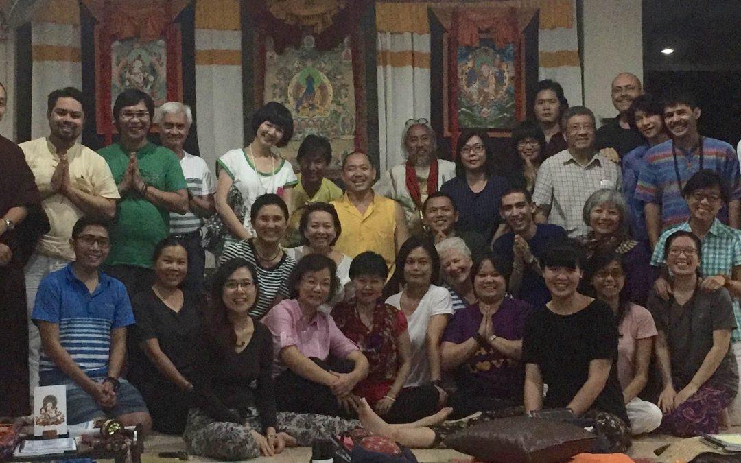 Khoá tu Phật Dược Sư, Kim Cương Tát Đoả, Liên Hoa Sanh ở Philippine, Dupsing Rinpoche